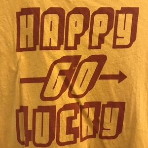 """Urban Outfitters """"Happy Go Lucky"""" T-Shirt"""